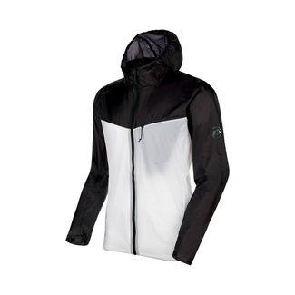Mammut Convey WB Hooded Jacket Men Windbreaker Herren black-bright white