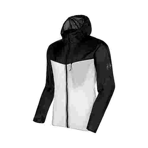 Mammut Convey WB Hooded Jacket Men Windbreaker Herren black-bright white