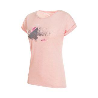 Mammut Mountain T-Shirt Women T-Shirt Damen candy melange PRT1