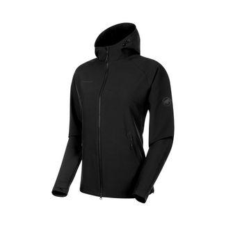 Mammut Macun SO Hooded Jacket Women Softshelljacke Damen black