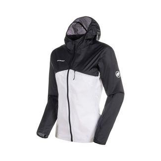Mammut Convey WB Hooded Jacket Women Windbreaker Damen black-bright white