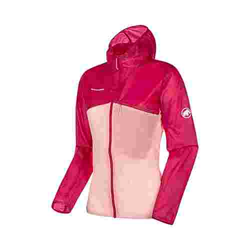 Mammut Convey WB Hooded Jacket Women Windbreaker Damen pink-candy