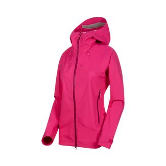 Mammut Kento HS Hooded Jacket Women Hardshelljacke Damen pink