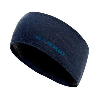 Mammut Merino Headband Stirnband marine