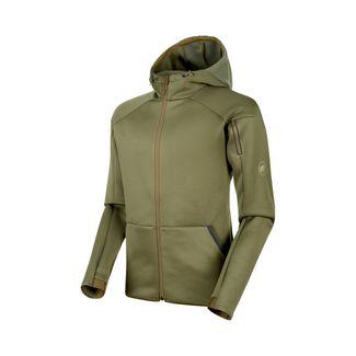 Mammut Mammut Logo ML Hooded Jacket Men Fleecejacke Herren olive melange