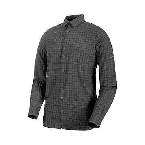 Mammut Lenni Longsleeve Shirt Men Funktionshemd Herren titanium
