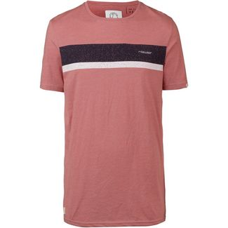 Ragwear Hake Organic T-Shirt Herren dusty red