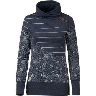 Ragwear Nest Block Organic Sweatshirt Damen navy