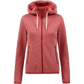 ICEPEAK LOTTE Strickjacke Damen burgundy