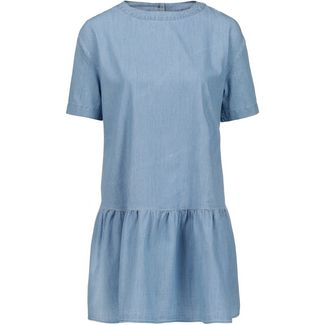Tommy Jeans Kurzarmkleid Damen light indigo