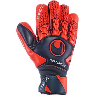 Uhlsport Next Level Soft Pro Torwarthandschuhe marine-fluo rot