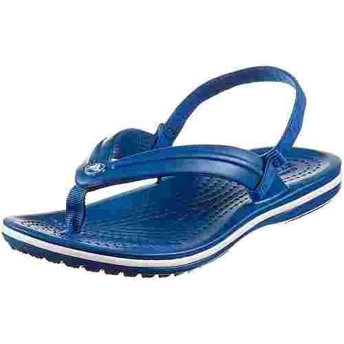 Crocs Crocband Zehentrenner Kinder blue jean