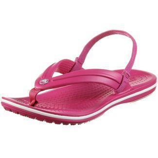 Crocs Crocband Zehentrenner Kinder candy pink