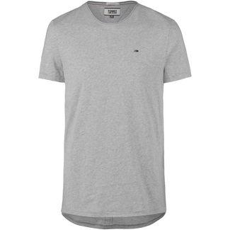 Tommy Jeans Essential Jaspe T-Shirt Herren light grey heather