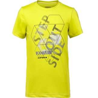 ICEPEAK TEX JR T-Shirt Kinder yellow