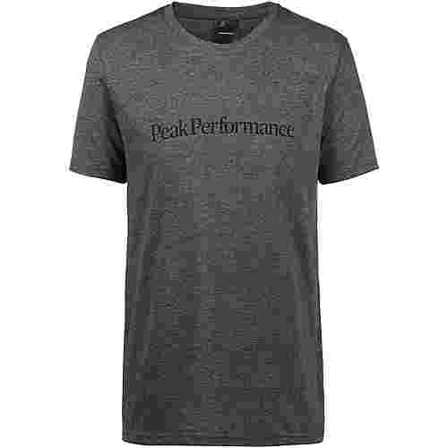 Peak Performance T-Shirt Herren dk grey mel