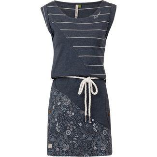 Ragwear Tag Organic Jerseykleid Damen navy