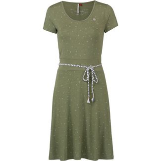 Ragwear Whitley Jerseykleid Damen light olive