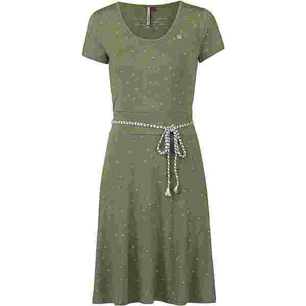 Ragwear Whitley Jerseykleid Damen light olive