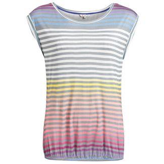 Khujo PIQUE PRINT T-Shirt Damen mehrfarbig