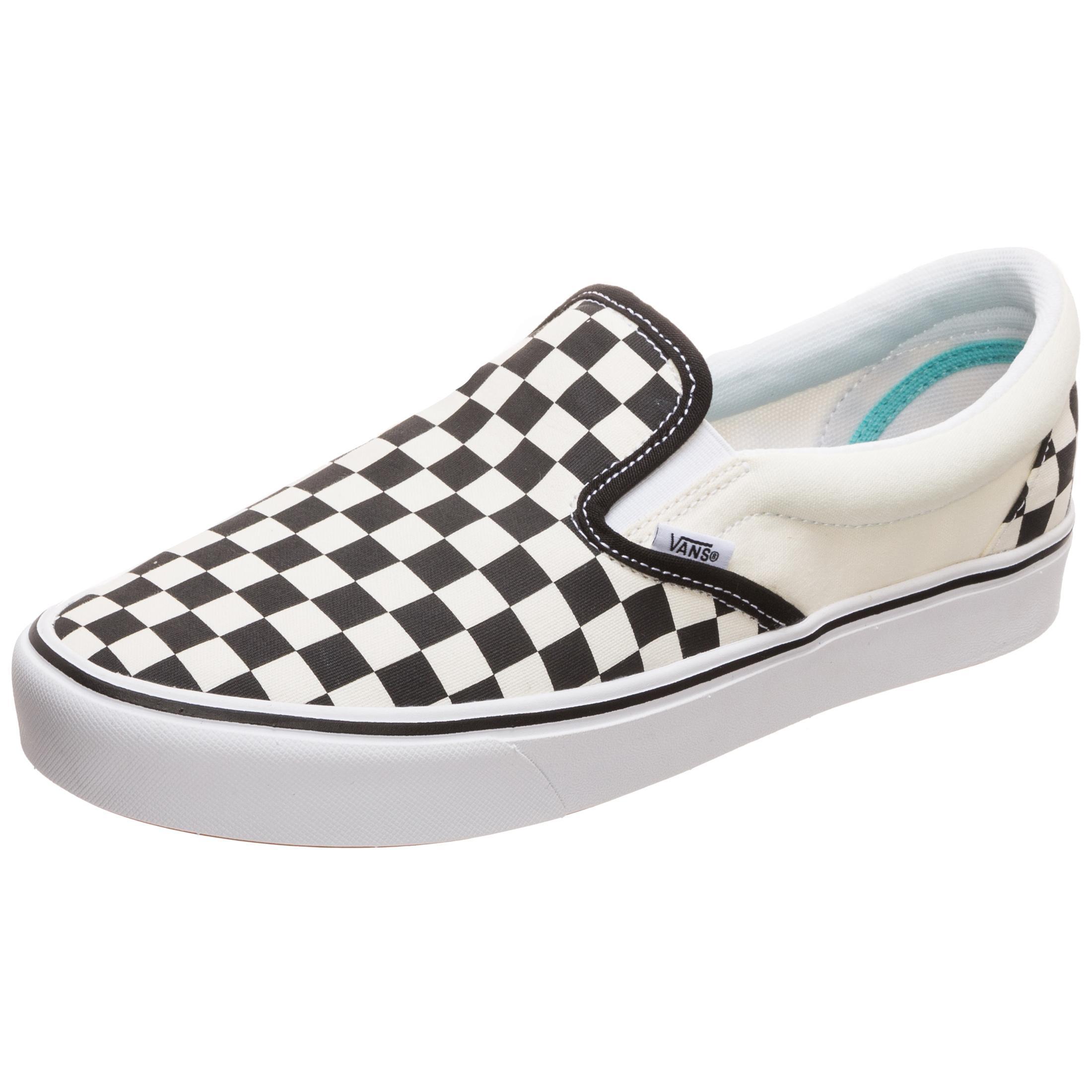 Vans Slip On ComfyCush Sneaker weiß schwarz im Online Shop von SportScheck kaufen