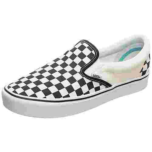 Vans Slip-On ComfyCush Sneaker weiß / schwarz