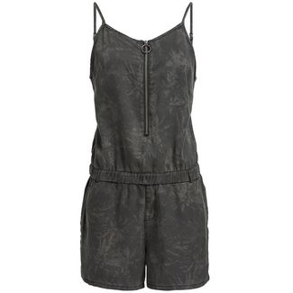 Khujo SHONA EASY JUNGLE AOP Jumpsuit Damen schwarz
