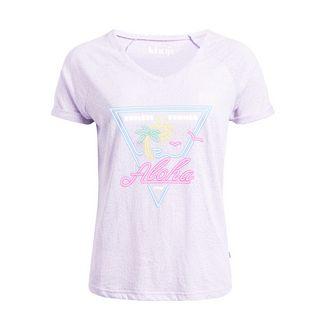Khujo VIVIANNE T-Shirt Damen flieder