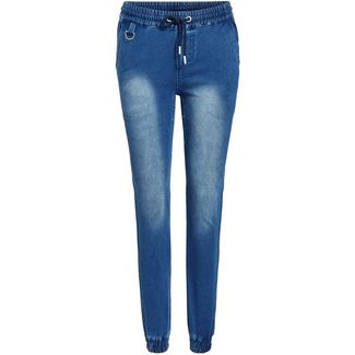 Khujo ERIE Hose Damen dark blue denim