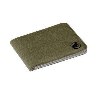 Mammut Flap Wallet Mélange Geldbeutel olive