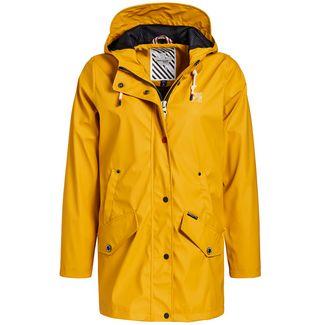 Khujo NANCY Regenjacke Damen gelb
