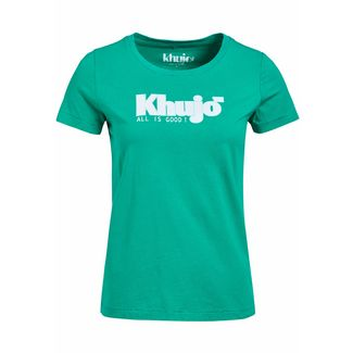 Khujo BROOKE LOGO T-Shirt Damen petrol