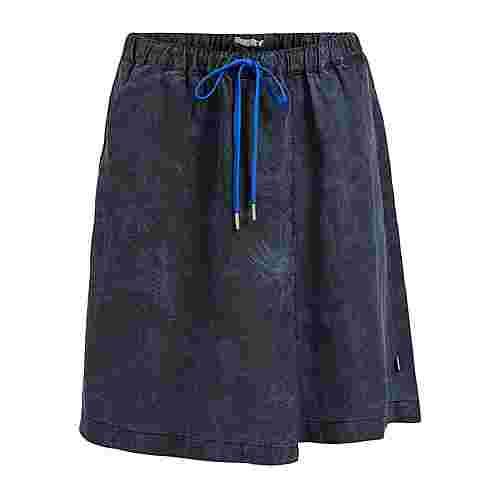 Khujo ELLIE EASY JUNGLE AOP Minirock Damen blau