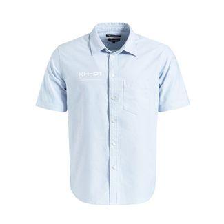 Khujo TERN Kurzarmhemd Herren blau