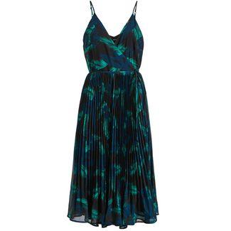 Khujo ROSE Kurzarmkleid Damen dunkelgrün