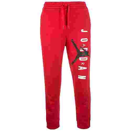 Nike Jordan Jumpman Air Sweathose Herren rot / schwarz
