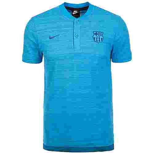 Nike FC Barcelona Grand Slam Poloshirt Herren blau