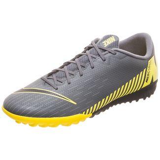Nike Mercurial Vapor XII Academy Fußballschuhe Herren dunkelgrau / gelb