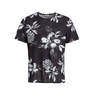 Khujo DUCK AOP T-Shirt Herren dunkelgrau gemustert