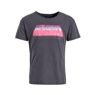 Khujo WILLI 80's VIDEO T-Shirt Herren navy