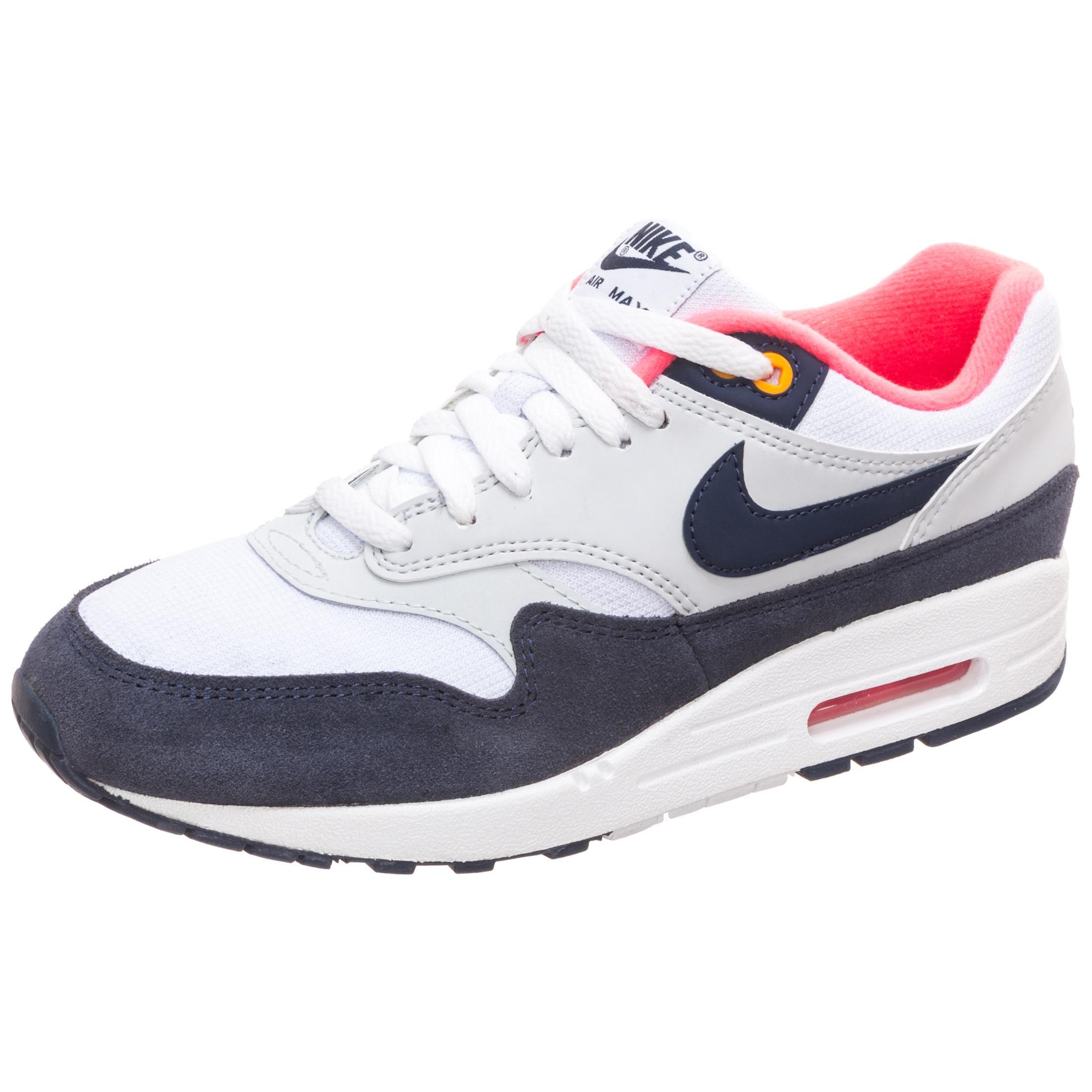 Nike Air Max 1 Sneaker Damen weiß / blau im Online Shop von SportScheck  kaufen