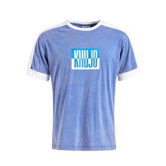 Khujo MERLIN T-Shirt Herren dunkelblau