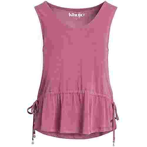 Khujo FARARI Tanktop Damen rosa