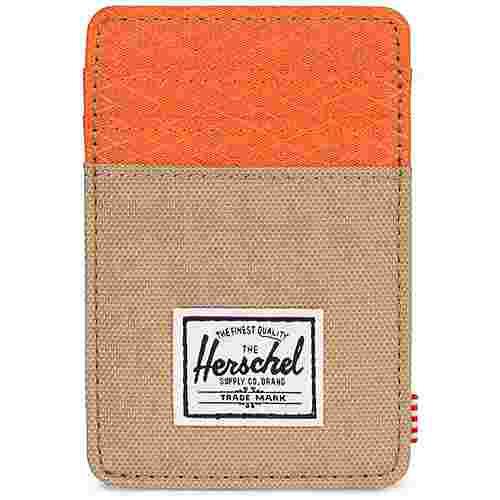 Herschel Raven Geldbeutel beige / orange