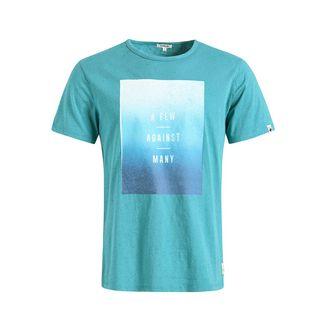 Khujo ALFONS OMBRE T-Shirt Herren blau