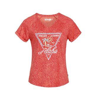 Khujo VIVIANNE T-Shirt Damen rot meliert