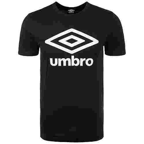 UMBRO Large Logo Funktionsshirt Herren schwarz / weiß