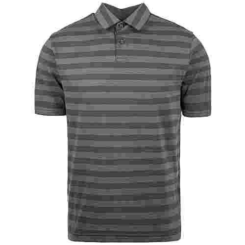 Under Armour Charged Cotton Scramble Stripe Poloshirt Herren grau