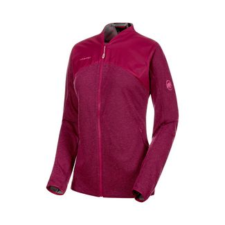 Mammut Alvra ML Jacket Women Fleecejacke Damen pink melange-pink