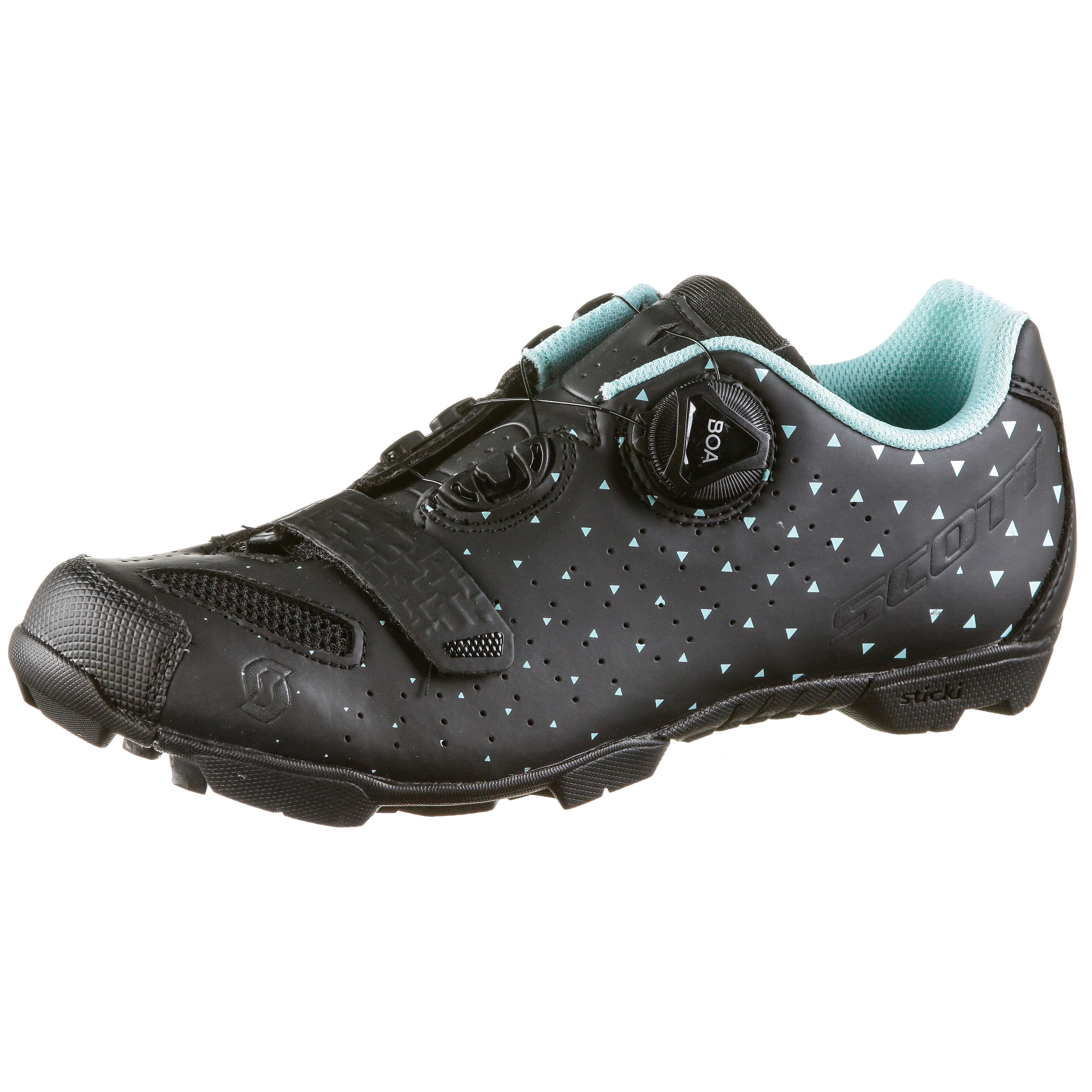 SCOTT Comp Boa Fahrradschuhe Damen matt schwarz-turquoise Blau im Online Shop von SportScheck kaufen Gute Qualität beliebte Schuhe